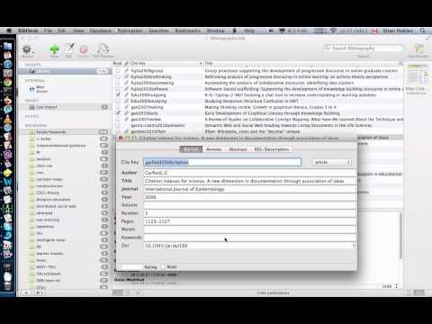 Automatically importing publications to BibDesk based on DOI and anystyle-parser