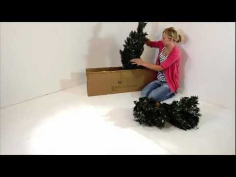 How To Assemble Your 5ft Pre Lit Deluxe Pine Christmas Tree