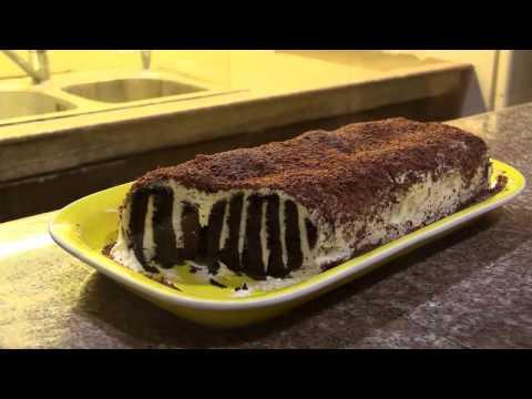 Oreo Log Cake
