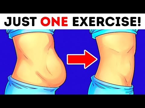 Only One Simple Exercise to Lose Back and Belly Fat Fast