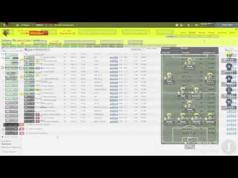 Football Manager 2014 User Interface Trailer