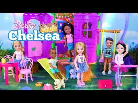 Unbox Daily: BARBIE Chelsea Club Treehouse PLUS Club Chelsea Dolls combo packs