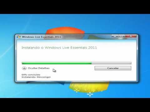 Instalar Windows Live 2011 (Messenger)