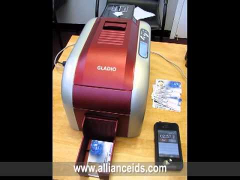 The New Gladio ID Card Printer