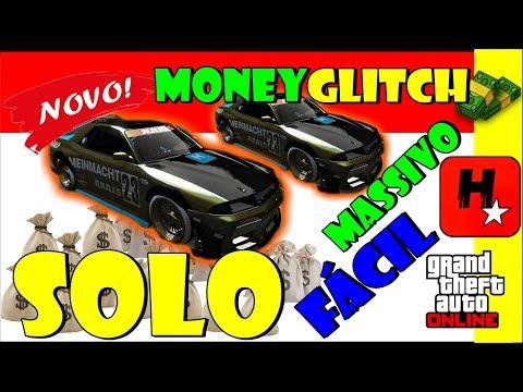 GTA 5 GLITCH DUPLICAR CARRO SOLO MASSIVO FÁCIL💲NEW EASY💲SOLO MONEY GLITCH (XB1/PS4/PC) V1.43