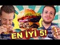 Download  İstanbul'un En İyi 5 Hamburgercisini Test Ettim #AlperinEnleri MP3,3GP,MP4