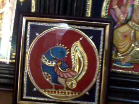 Tanjore painting | Tutorial | DIY | Learn how to make Tanjore Paintings Style Decorative