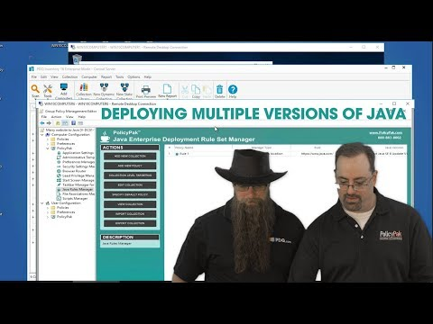 Deploying Multiple Versions of Java to the Same Endpoint Using PolicyPak and PDQ Deploy