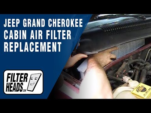 How to Install Cabin Air Filter Jeep Grand Cherokee