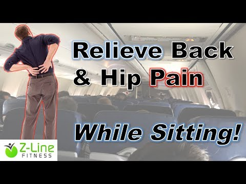 Relieve Lower Back Pain While Sitting
