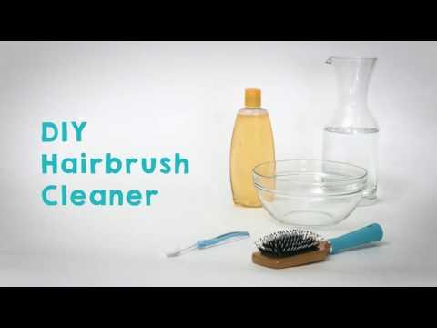 DIY Hairbrush Cleaner