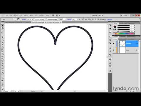 Illustrator: How to use the Reflect tool | lynda.com tutorial