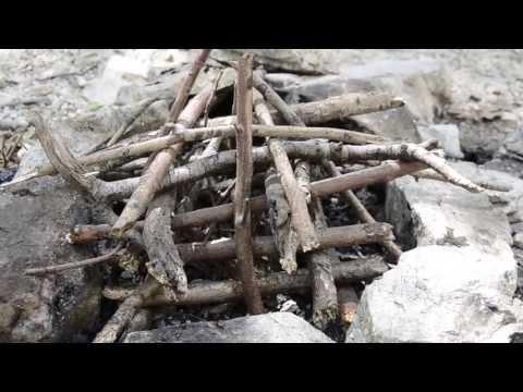 How To Build A Pyramid Campfire