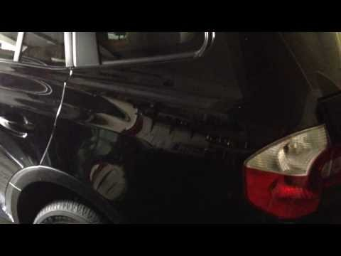 2004-10 BMW X3 Sunroof Drain Location(E83)