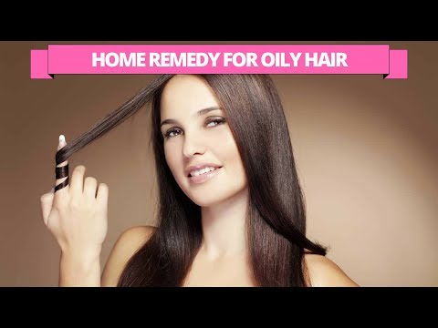 Natural kitchen home remedy for oily hair