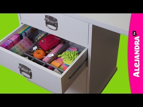 How to Organize Your Desk Drawers (Part 3 of 9 Home Office Organization Series)