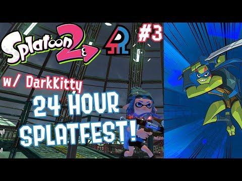 Splatoon 2 Splatfest #10 (Raph VS Leo) Part 3 [FIRST EVER CROSS TEAM 24 HOUR SPLATFEST!!!]