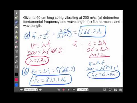 Standing Waves Lecture