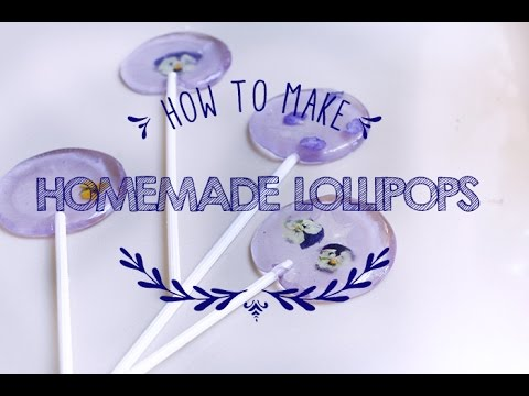 How to Make Homemade Lollipops ♥