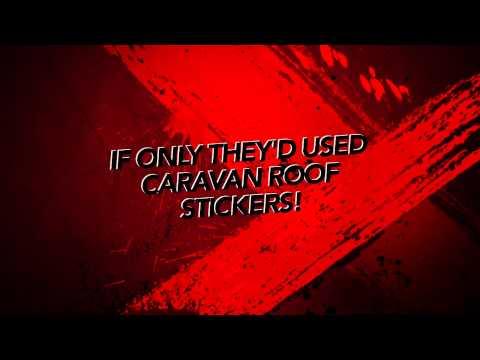 Caravan Roof Stickers