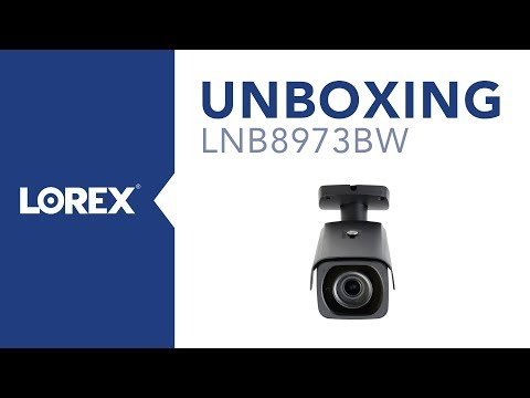 Unboxing the LNB8973BW Nocturnal Security Camera