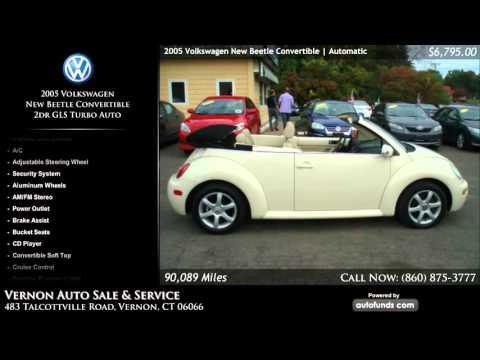 Used 2005 Volkswagen New Beetle Convertible | Hairam Ventures LLC, Vernon, CT - SOLD