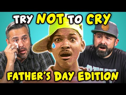 Xxx Mp4 Dads React To Try Not To Cry Challenge Father S Day 3gp Sex
