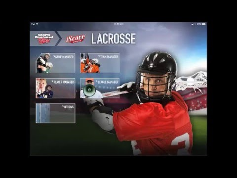 Scoring A Game with iScore Lacrosse