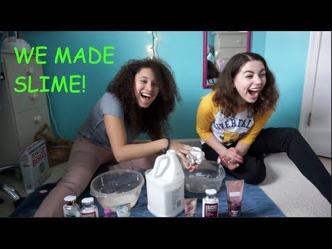 Gianna and I Made Slime!
