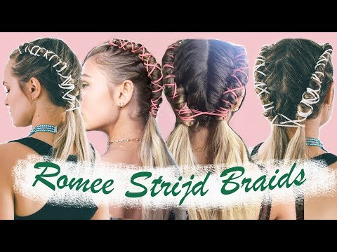 How to do Romee Strijd's Coachella Pipe Braids (& an easy version!) - KayleyMelissa