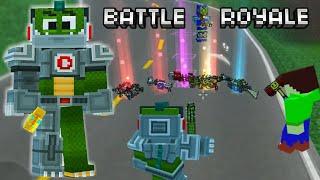 CHAMPION MARCENARY IS 💩 !!! Pixel Gun 3D BATTLE ROYALE
