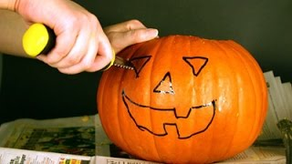 How To Carve A Pumpkin Step By Step Instructions