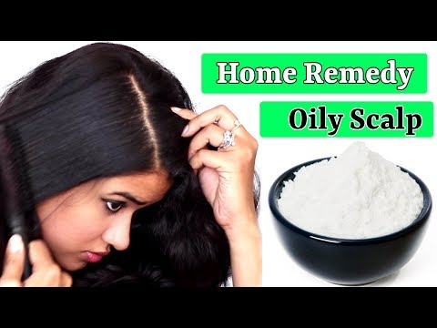 Home Remedy for Oily Scalp (Hindi)