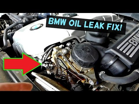 BMW E60 E61 OIL LEAK FIX | OIL FILTER HOUSING GASKET REPLACEMENT and LEAK FIX