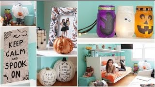 Roomspiration 3 Easy Diy S Decorating My Room For Halloween Beautytak