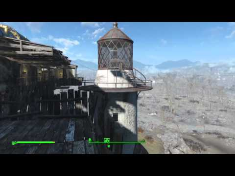 Fallout 4 Base: Kingsport Lighthouse