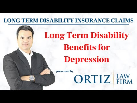 Depression and LTD claims