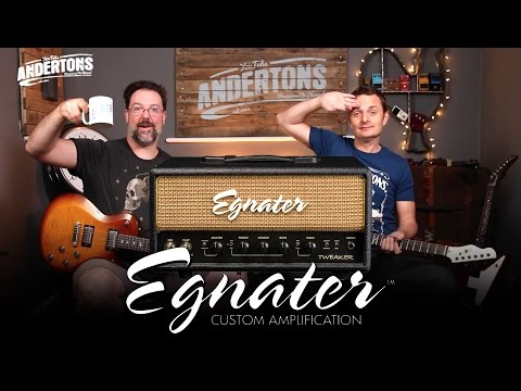 Egnater Tweaker Guitar Amps - Awesome Tone & Incredible Value
