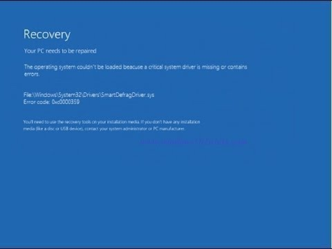 FIX: The Boot Configuration Data For Your PC Is Missing Or Contains Errors