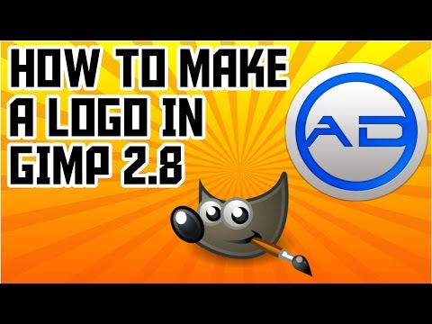 How to Make a Logo in Gimp 2.8