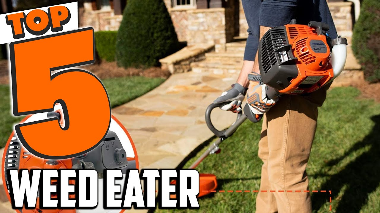Best Weed Eater In 2021 - Top 5 Weed Eaters Review