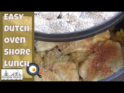 Easy Dutch Oven Shore Lunch