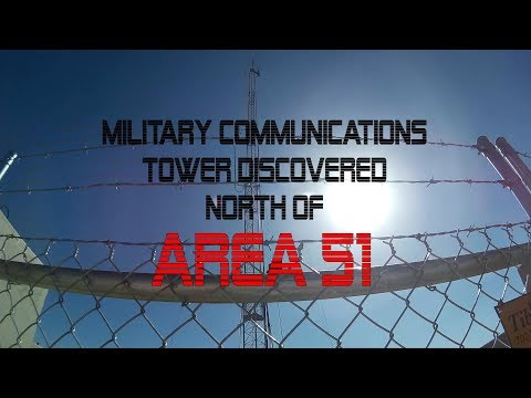 AREA 51: Military Communications Tower Discovered Near Rachel, NV