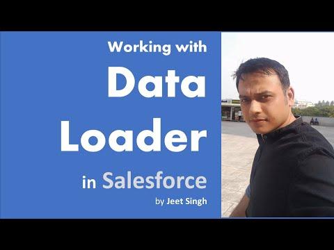 Data Loader | Import, Update, Delete, Export in Salesforce | by Jeet Singh