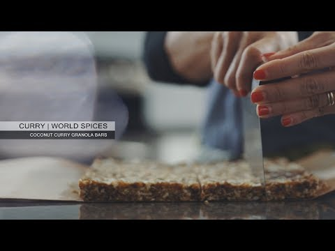 Curry - Coconut Curry Granola Bars