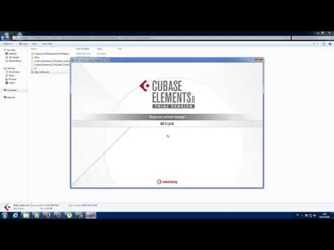 Install Cubase Element 8 Trial 2065 (Indonesian)