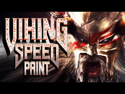 Speedpainting - a Viking Warrior