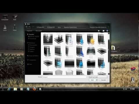 Tutorial Installation U-7imate Theme for Windows 7 x86 x64, Including DLLs, Icons and Take OwnerShip
