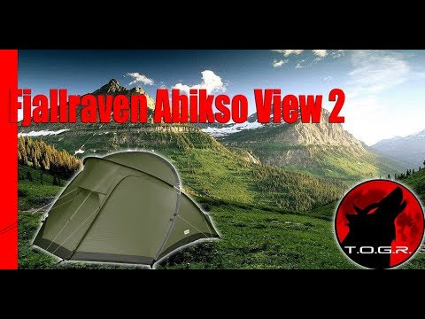 First Look - Fjallraven Abikso View 2 Tent - Preview