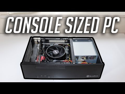 A Console-Sized Ryzen 3 ITX Gaming PC! (2017)